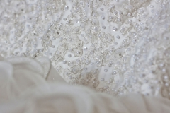 Wedding Dress detailed beadwork