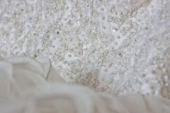 Wedding Dress detailed beadwork